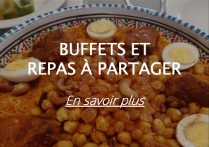 offre buffets et repas à partager