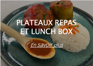 plateaux repas et lunch box